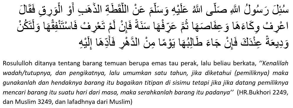 ketentuan-yang-harus-dilakukan-terhadap-barang-temuan-menurut-islam